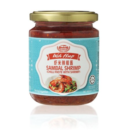 Woh Hup Sambal Shrimp Chilli Paste with Shrimp 220g (Shrimp Paste)