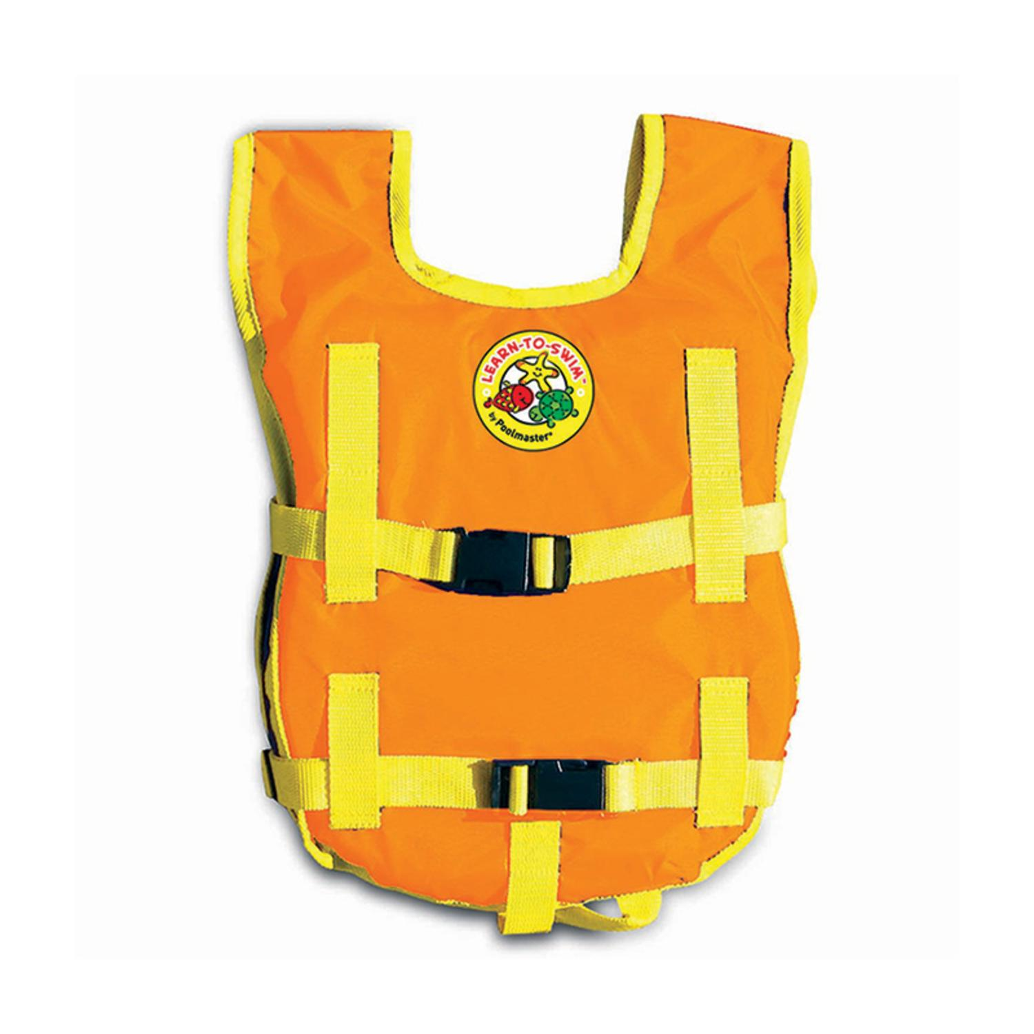 Orange and Yellow Unisex Child's Water or Swimming Pool Freestyler Swim Training Vest - Up to 45lbs