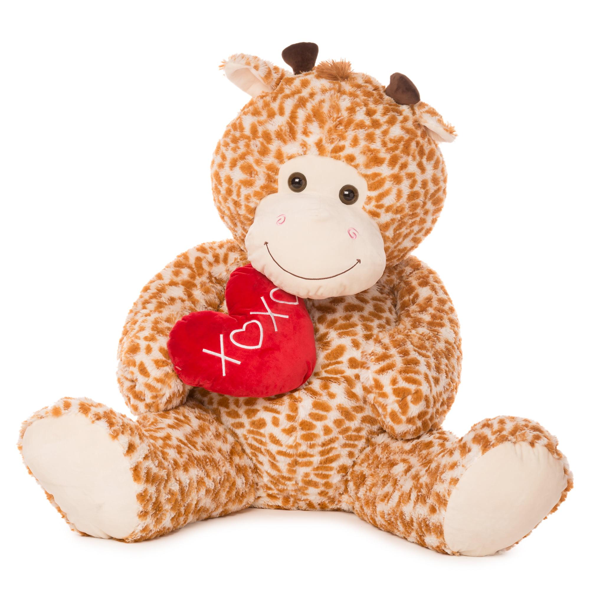 Best Made Toys 55 Jumbo Giraffe Giant Plush Animal Over 4 Feet Tall
