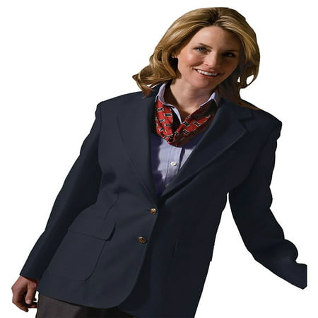 Edwards Garment Women's Two Button Single Breasted Blazer, Style 6500 Cashmere Single Breasted Suit
