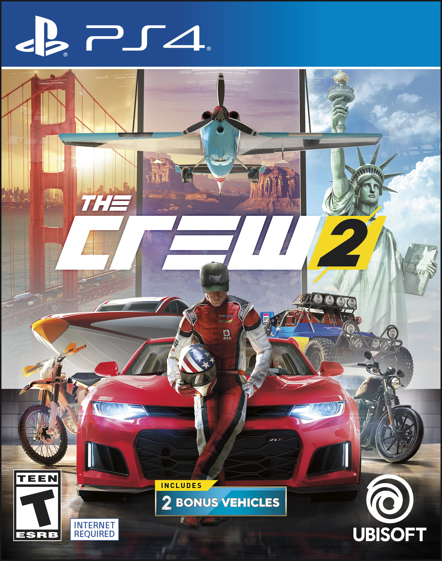 The Crew 2 Day 1 Edition, Ubisoft, PlayStation 4, 887256029074 by Ubisoft
