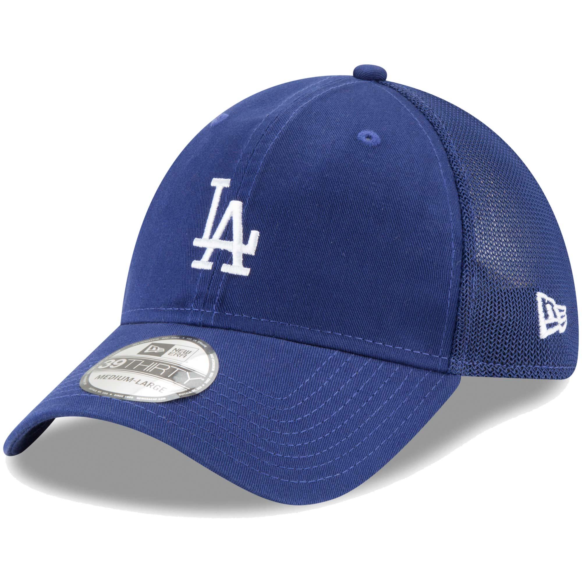Los Angeles Dodgers New Era Team Precision 39THIRTY Flex Hat - Royal