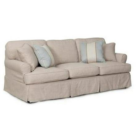 Sunset Trading Horizon Sofa - Slip Cover Set Only - Linen