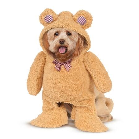 Walking Teddy Bear Pet - Teddy Bear Dog Halloween Costumes