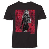 Ronda Rousey UFC Youth Fighter Repeat T-Shirt - Black