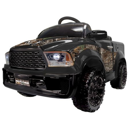 Best Ride On Cars Realtree Truck 12V- Black - N/A - Overstock Toys