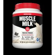 Muscle Milk Genuine Protein Powder, 32g Protein, Cookies 'N Creme, 1.93 Pound, 12 Servings