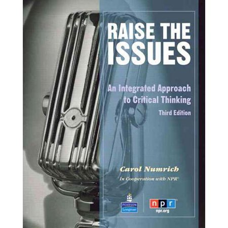 Raise The Issues  An Integrated Approach To Critical Thinking