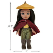 """Raya and the Last Dragon 6"""" Petite Raya Doll Playset, 5 Pieces Included"""
