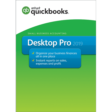 Intuit QuickBooks Pro 1-user 2019 (Email & CD - Users Std Cd