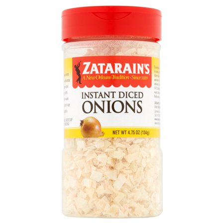 (3 Pack) Zatarain's Diced Onions, 4.75 -