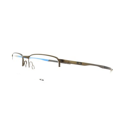 0618847a5a OAKLEY Eyeglasses BARRELHOUSE 0.5 (OX3174-0653) Pewter Sky Blue 53MM -  Walmart.com