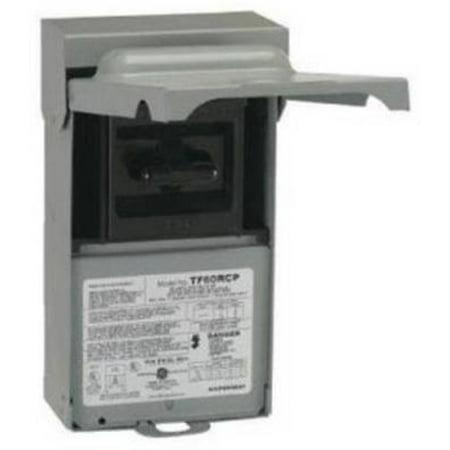 60A Pullout Disconnect Rainproof 120/240V 2 Cartridge Fuse