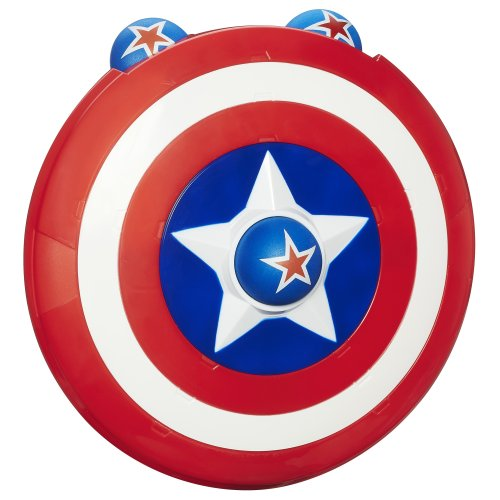 Playskool Heroes Marvel Super Hero Adventures Captain America Shield Launcher