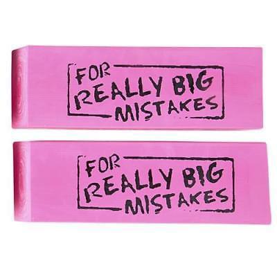 JUMBO BIG MISTAKE WEDGE ERASER (Big Erasers)