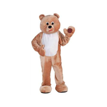 DLX PLUSH HONEY BEAR MASCOT - Teddy Bear Costume Men