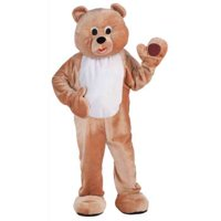 DLX PLUSH HONEY BEAR MASCOT