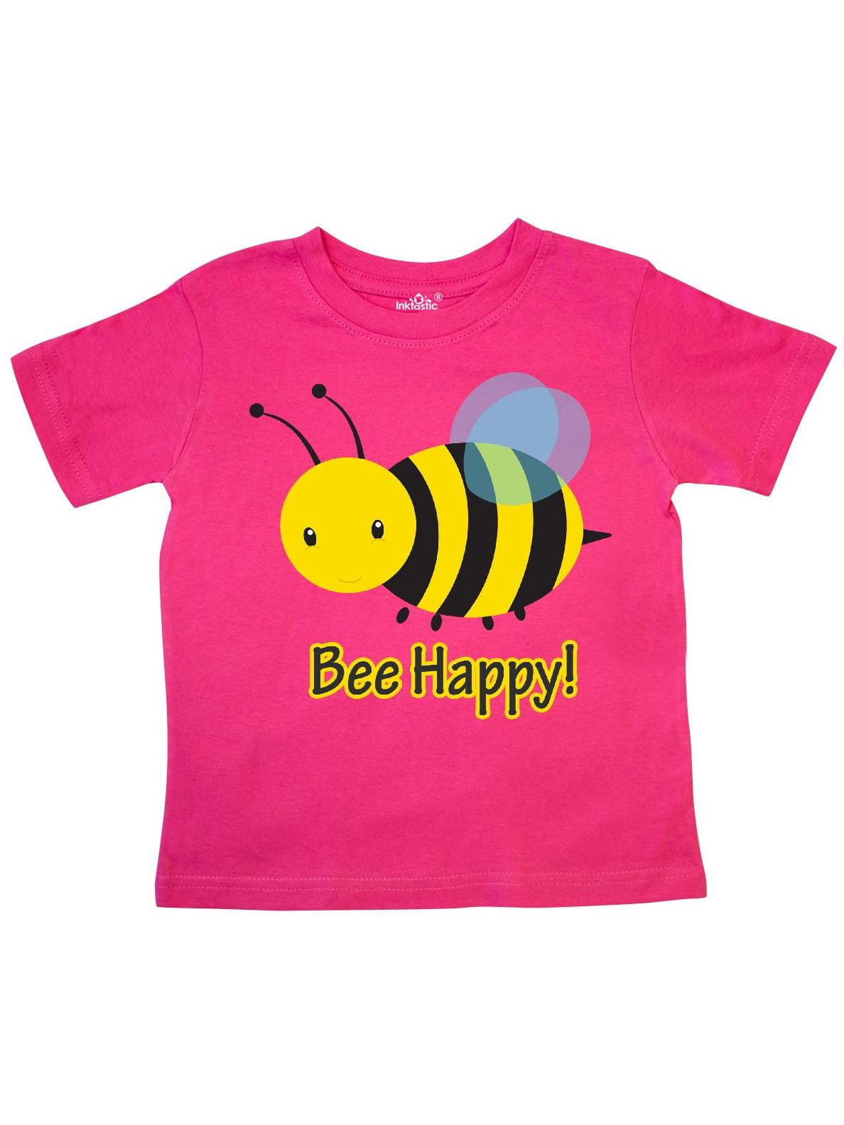 Bee Happy! Toddler T-Shirt
