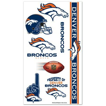 Denver Broncos Temporary Tattoos - Denver Bronco Tattoos