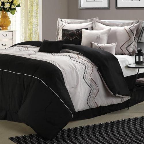 Chic Home Horizon 8 Piece Comforter Set