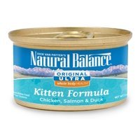 Natural Balance Original Ultra Whole Body Health Chicken, Salmon & Duck Kitten Wet Cat Food, 3 Oz