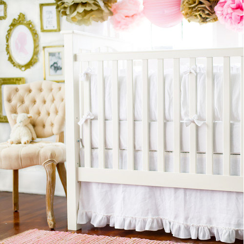 New Arrivals Madison Avenue 3 Piece Crib Bedding Set