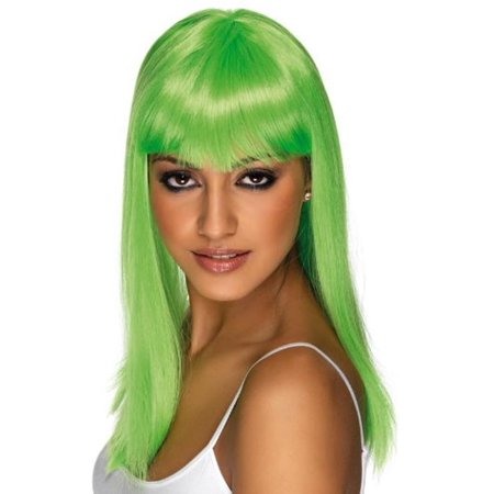 Glamourama Wig Costume Accessory - Green Wigs For Sale
