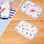 Akoyovwerve Baby Trolley Air Filter Cotton Shoulders Bibs Feeding Saliva Towel Multifunctional Buckles Two Pieces For Each