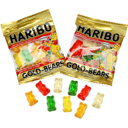 Haribo Gold-Bears Original Gummi Candies, 22.8 Oz., 54 Pouches](Haribo Gummi Bears)