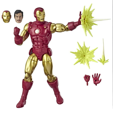 Marvel Legends Series 80th Anniversary Iron Man Collectible Figure