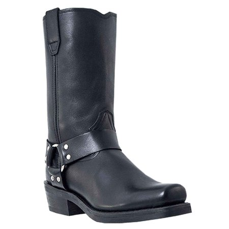 Dingo Men's Dean Boot Black, DI19057 Dingo Harness Mens Boots