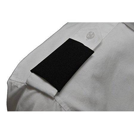 Peachtree Pilot Black Epaulets No Bar (Epaulet Design)