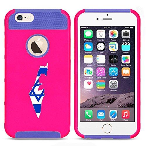 Apple iPhone SE Shockproof Impact Hard Soft Case Cover Israel Israeli Flag (Hot...
