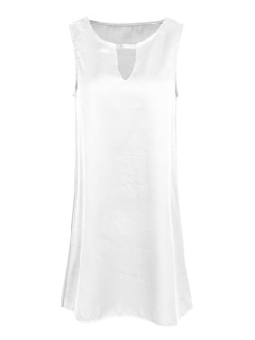 White Womens Plus Dresses - Walmart.com