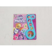Refurbished Hasbro - My Little Pony The Movie Little Music Note Sound Book - PI Kids