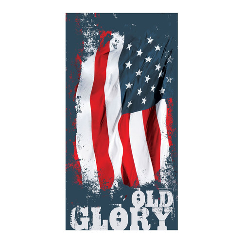 Kaufman Sales Old Glory Printed Beach Towel