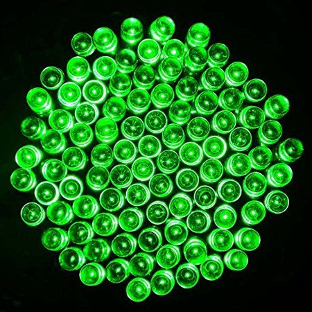 Solar Powered Green 200 LEDs String Fairy Tree Light Outdoor Wedding Party Xmas