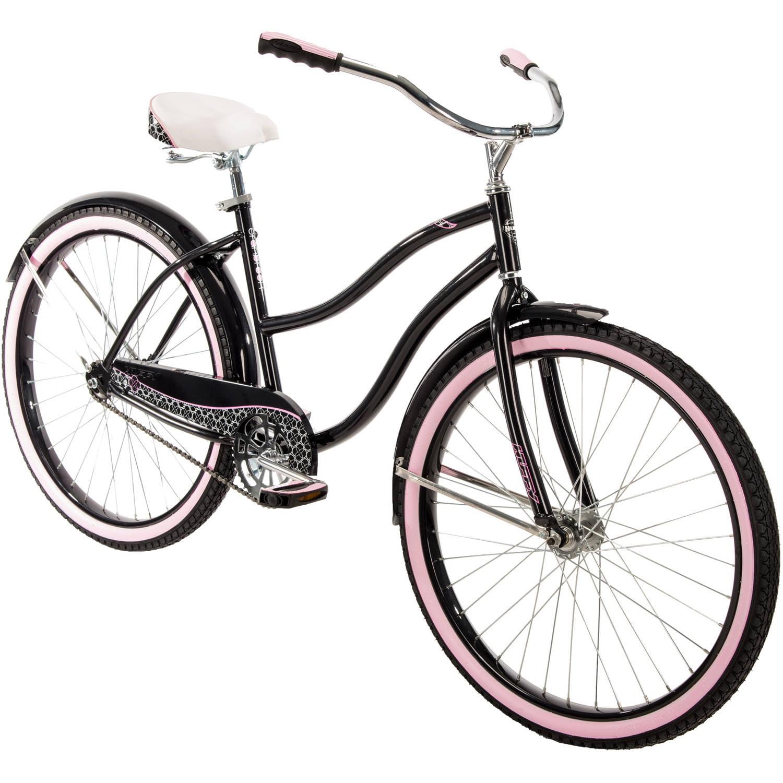 "HUFFY 26/"" Women/'s Cranbrook Cruiser Vélo Rare Noir Rose Neuf en Boîte ✅ Fast Ship ✅"