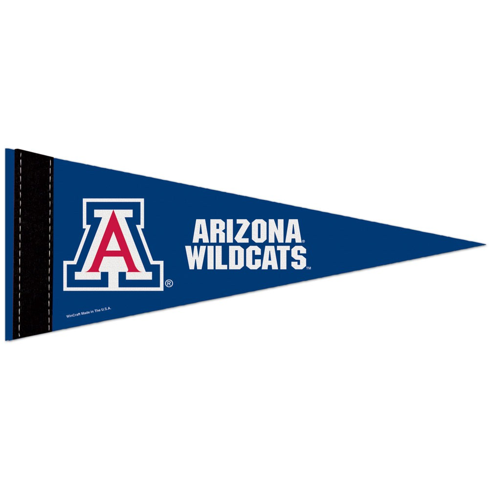 Arizona Wildcats Official NCAA 10 inch x 4 inch  Mini Pennant by WinCraft
