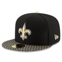 New Orleans Saints New Era 2017 Sideline Official 59FIFTY Fitted Hat - Black