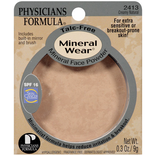 Phyicians Formula Mineral Face 2413 Creamy Natural Powder .3 Oz