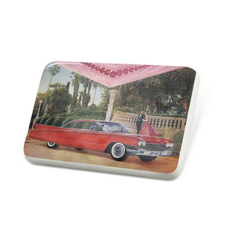 - Porcelein Pin Car 50s Lapel Badge – NEONBLOND