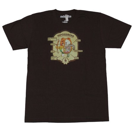 The Bravest Warriors Mens T Shirt Impossibear Dissected
