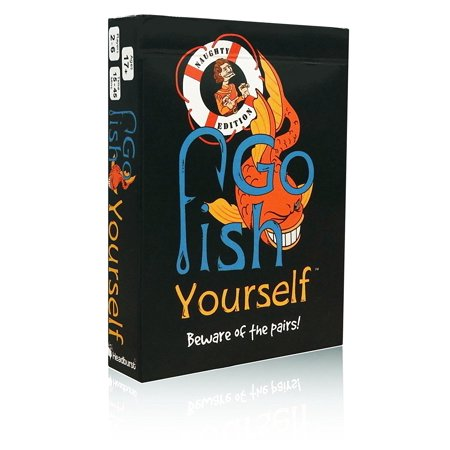 Go Fish Yourself Adult Party Game Expansion (Naughty Edition) (Games For A Halloween Party For Adults)