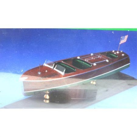 Chris Craft Triple Cockpit Barrelback Wooden Boat Kit By Dumas