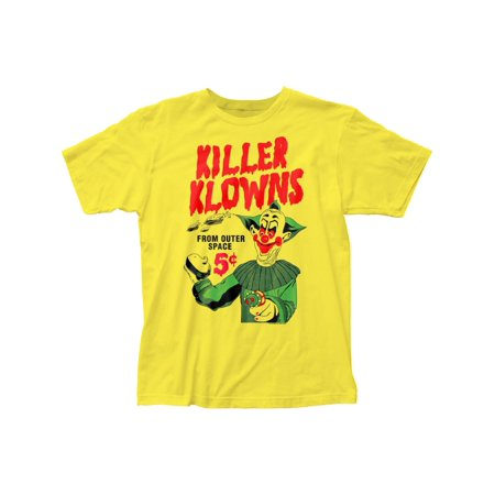 Killer Klowns 5¢ Pies fitted jersey tee (2XL)
