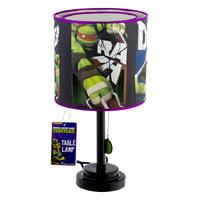 "Nickelodeon Teenage Mutant Ninja Turtles Table Lamp, 1.0 CT- 18""H"