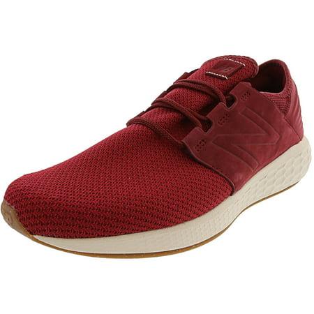 New Balance Mcruz Men's Mid Fabric Running Shoe - 8.5W - (Neon Pink And Yellow Nike Running Shoes)