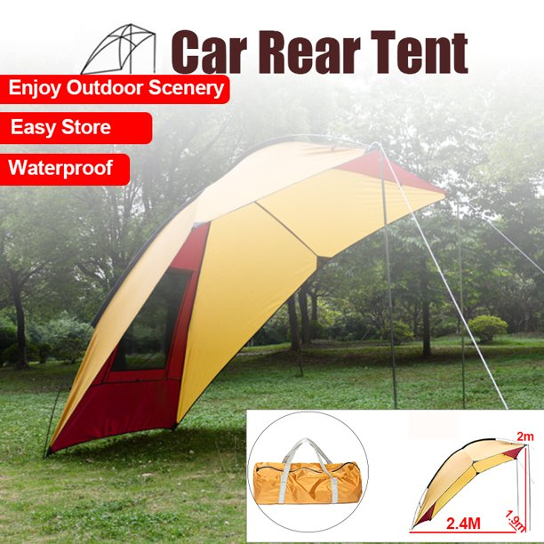 Folding Car Tent Camping Shelter Anti Uv Sun Shelter Garden Waterproof Canopy Awning Tent For Fishing Beach Picnic With Carry Bag Walmart Com Walmart Com