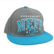 HEADWEAR Skate Lifestyle Hat Team Cap Gray Snapback